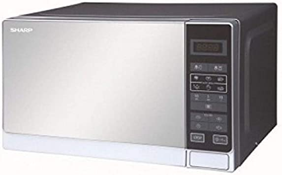 Amazon.com: Sharp r-20mt 20-liter 800 W Horno Microondas, de ...