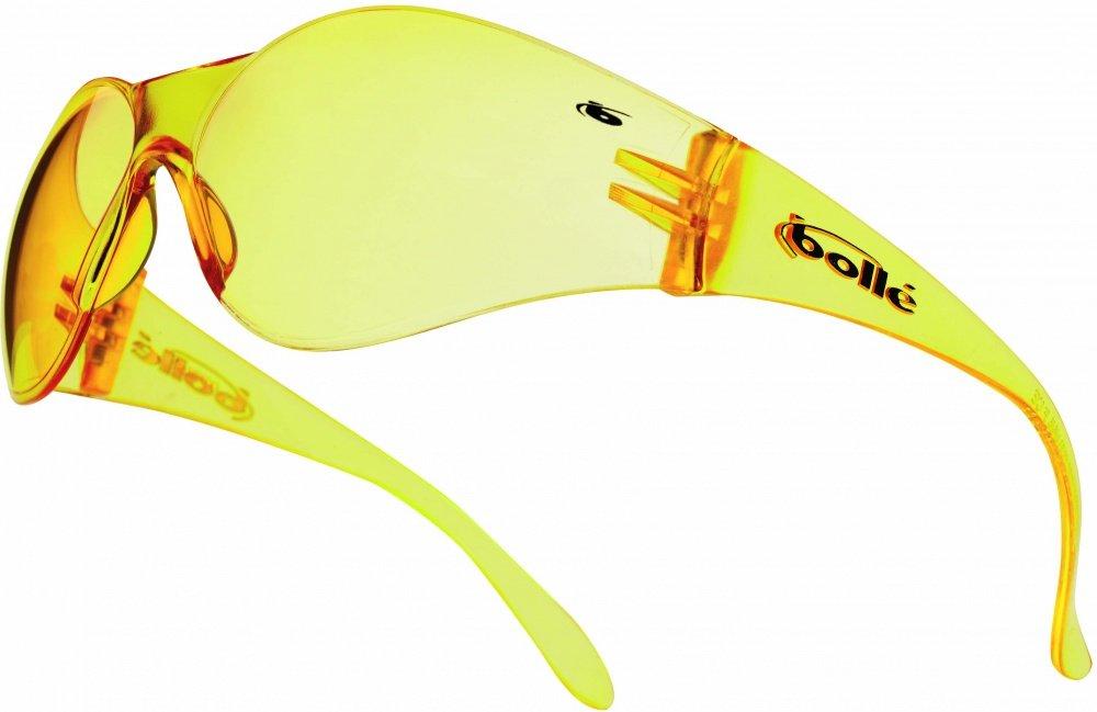 Bolle BANPSJ Bandido Safety Glasses - Yellow