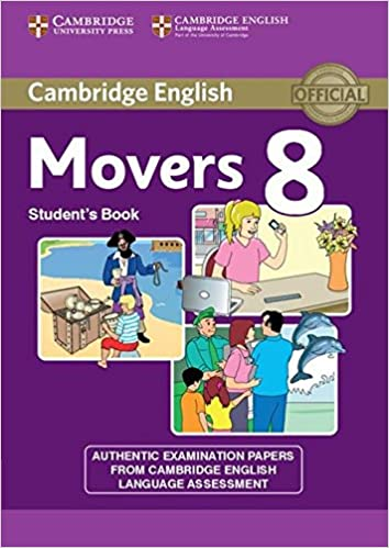 Amazon cambridge english young learners 8 movers students book cambridge english young learners 8 movers students book authentic examination papers from cambridge english language assessment student edition fandeluxe Choice Image