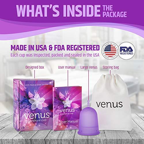 Venus Menstrual Cup – FDA Registered & 100% Medical Grade
