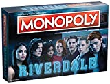 Monopoly Riverdale Board Game | Features Popular Characters and Locations from The CW TV Show Riverdale | Official Riverdale Merchandise | Artwork from Riverdale Seasons | Themed Monopoly Game