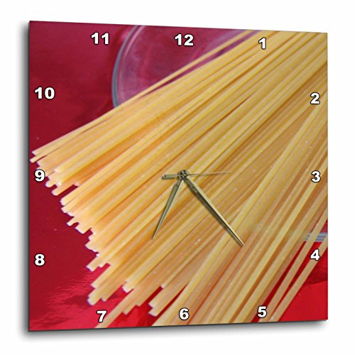 3dRose dpp_30724_2 Pasta Time-Wall Clock, 13 by 13-Inch