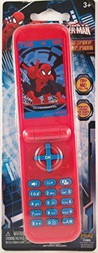 Ultimate Spider-man Go Spidey! Flip Phone - Beep Phone