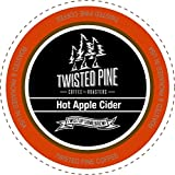 Twisted Pine Hot Apple Cider, Single-Serve Cups for Keurig K-Cup Brewers, 80 Count