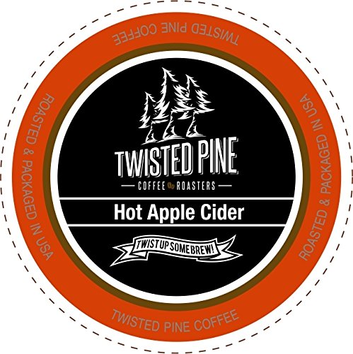 Twisted Pine Hot Apple Cider, Single-Serve Cups for Keurig K-Cup Brewers, 80 Count Review