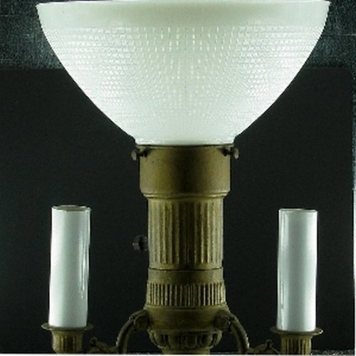 Upgradelights Ten Inch Glass Floor Lamp Reflector Shade with 3 Way Mogal - Reflector Shades
