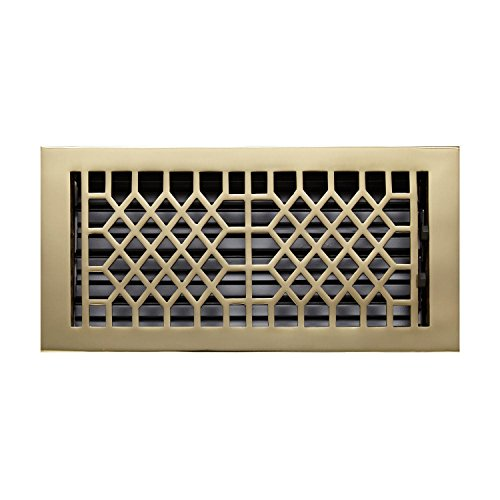 Solid Brass Wall Register - Naiture 6