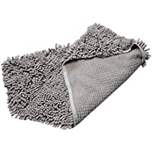 Dog Shower Towel Fast Dry Quick-These Bath Towels make the Perfect Gift for your Beloved Pet-The Towels are Highly Absorbent (S-6035cm, Grey)