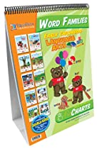 NewPath Learning Word Families Curriculum Mastery Flip Chart Set, Early Childhood