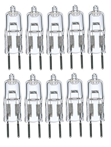12V 12 Volt G6.35 Bi-Pin JC Type Halogen Light Bulb GY6.35 ()