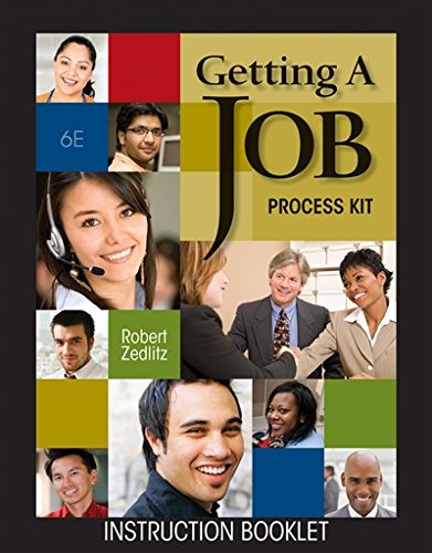 Getting a Job Process Kit (with Resume Generator CD-ROM) (Electronic Career Portfolio)