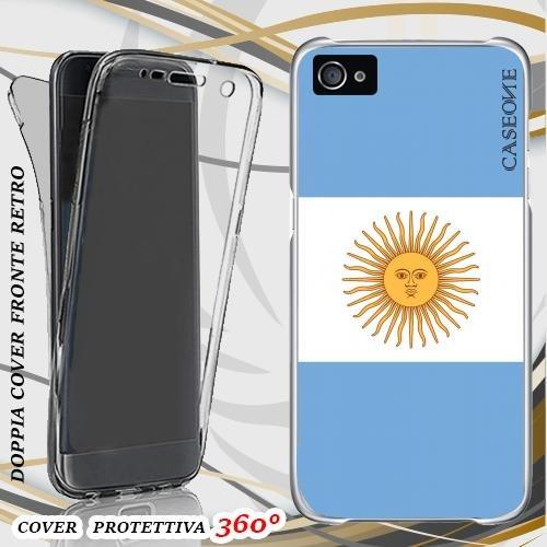CUSTODIA COVER CASE ARGENTINA PER IPHONE 5 FRONT BACK