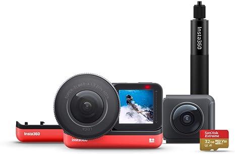 Insta360 One R Cámara de Acción Deportiva Adaptativa Control de Voz IPX8 Impermeable (One R Ultimate Kit): Amazon.es: Electrónica