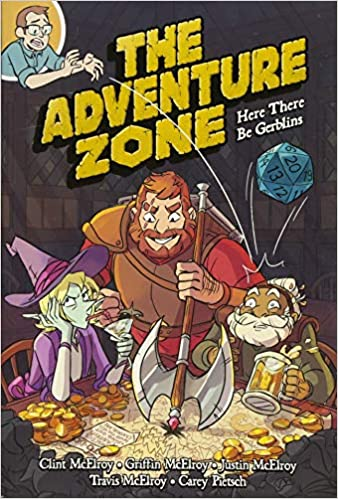 the adventure zone here there be gerblins clint mcelroy griffin