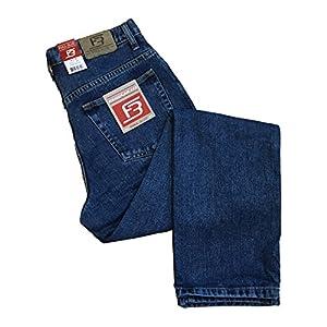 Full Blue Mens 5 Pocket Jean Regualr Fit Med Wash