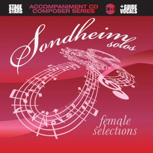 Sondheim Solos, Female Selections (karaoke/accompaniment CD) (Female Artists Cd)