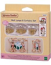 Sylvanian Families 5447 Wandkandelaars & Gordijnen Set Poppenhuis Accessoires
