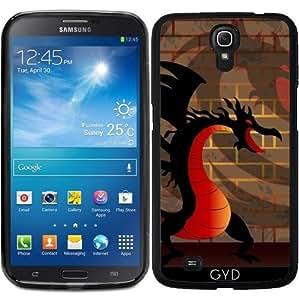 Funda para Samsung Galaxy Mega 6.3 GT-I9205 - Dragón De Dibujos Animados Divertido by nicky2342