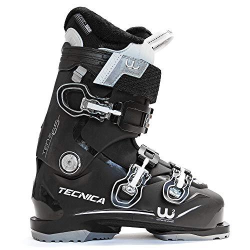 Tecnica Ten.2 65 C.A. Ski Boots Black Womens Sz 7.5 (24.5)