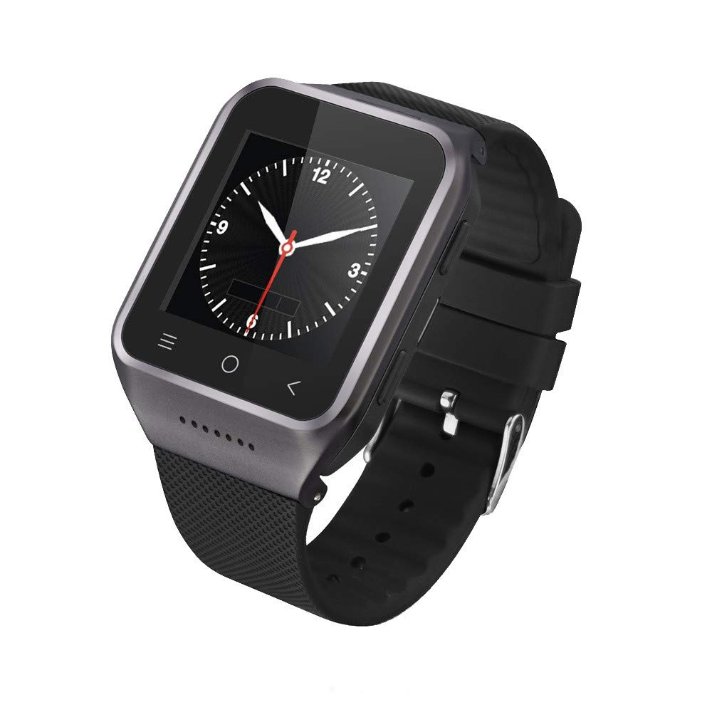 WiFi GPS 3G Smart Watch Phone Base On Android Os V5.1,2 Million Pixels Camera Watch,Support Bluetooth 4.0 (Black)
