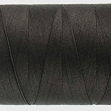 50wt double gassed Egyptian cotton WonderFil Specialty Threads Konfetti Thread Soft Black