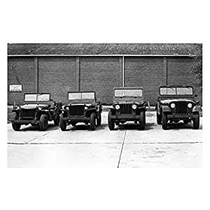 1940 1945 1950 1964 Willys Military Jeep MA MB M38 M38A1 Factory Pho