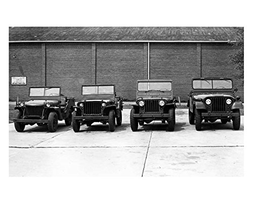 1940-1945-1950-1964-willys-military-jeep-ma-mb-m38-m38a1-factory-pho