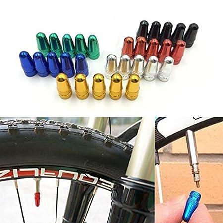 de tapones para rueda de bicicleta Arpoador 5 uds aptos para v/álvula francesa Presta