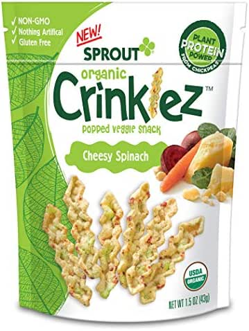 Baby & Toddler Snacks: Sprout Crinklez