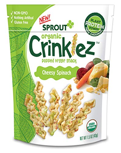 Sprout Organic Crinklez Toddler Snacks