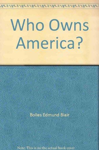 Who owns America? - Australia Bolle