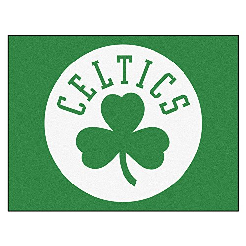 Fanmats 19426 33.75''x42.5'' Team Color NBA - Boston Celtics All-Star Mat by Fanmats