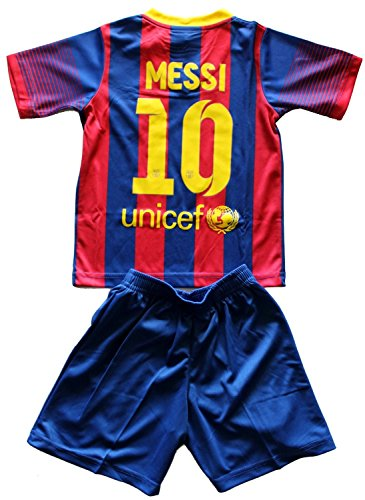 716da9d0d 2015 2016 Barcelona Home Leo Messi Home Youth Sizes Soccer Kids Jersey  Shorts (8