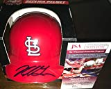Nolan Gorman St Louis Cardinals Autographed Signed Mini Baseball Helmet JSA WITNESS COA