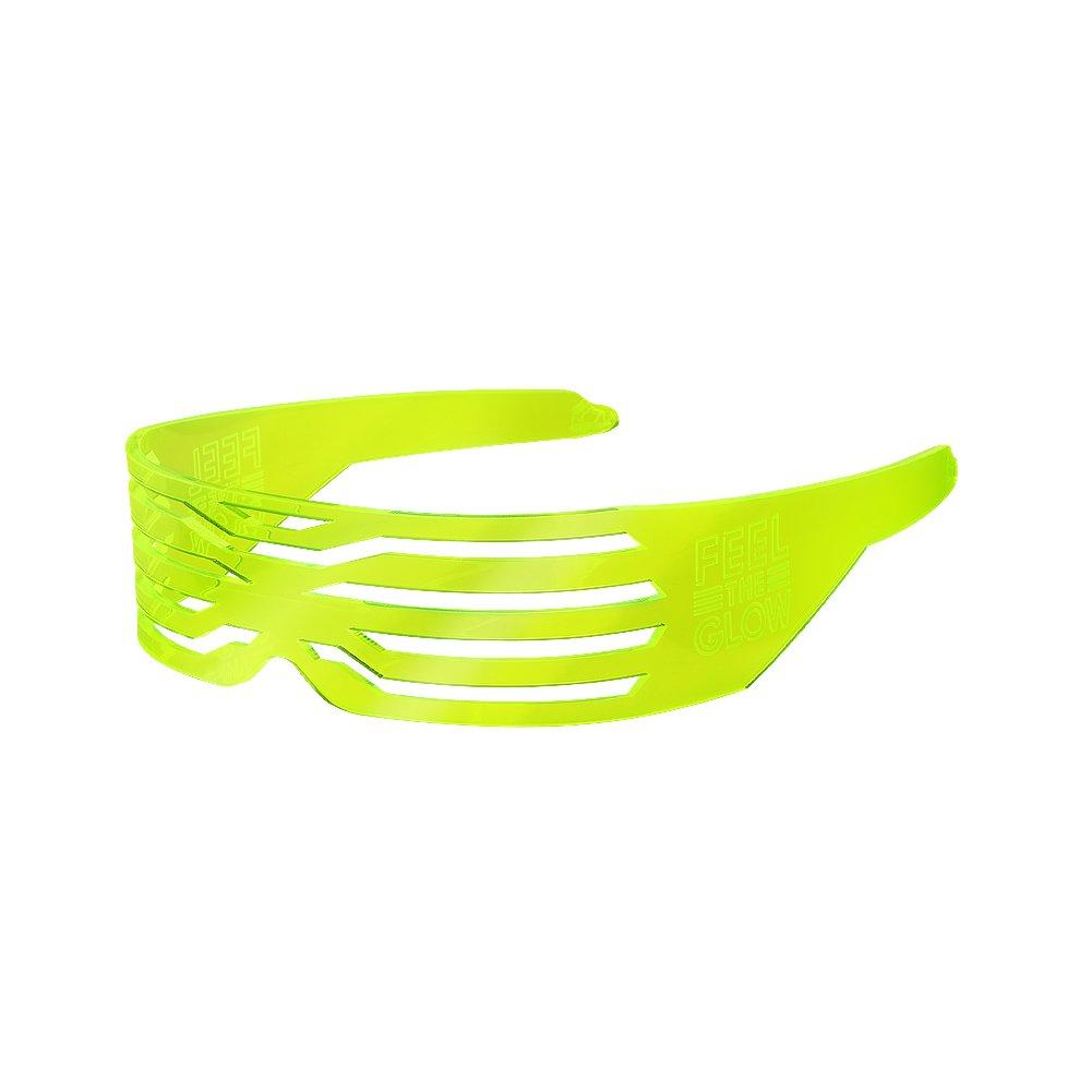 WWE Naomi Neon Yellow Sunglasses