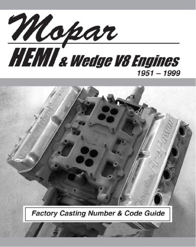 Mopar HEMI and Wedge V8 Factory Casting Number and Code Guide 1951-99 (V8 Casting Numbers)