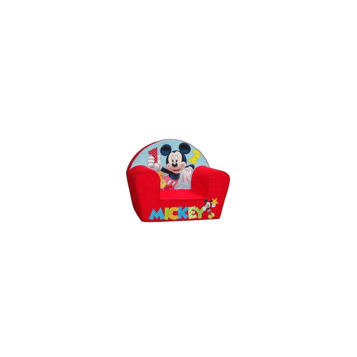 Disney - Poltrona Mickey 1-2-3 - Rosso product image