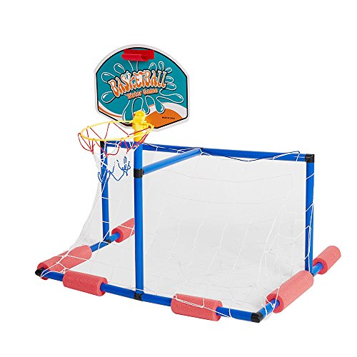 - COLOR TREE 2 in 1 Water Sport Game ,Water Polo with Basketball Stand for Play