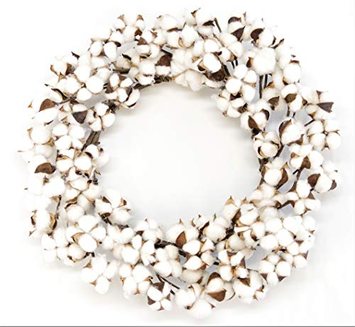 Silvercloud Trading Co. Real Cotton Wreath 18
