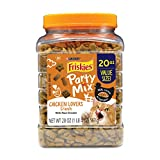 Cheap Purina Friskies Party Mix Crunch Chicken Lovers Cat Treats – 20 Oz. Canister