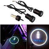 CHAMPLED® For LINCOLN Car Auto Laser Projector Logo Illuminated Emblem Under Door Step courtesy Light Lighting symbol sign badge LED Glow Performance