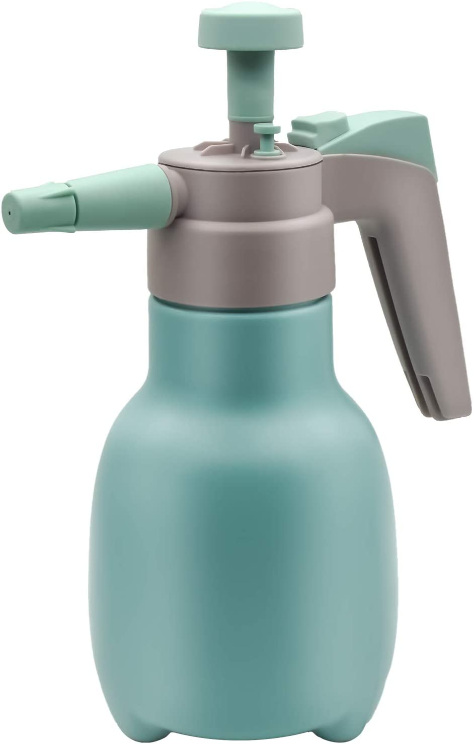 FEEMIC Garden Sprayer Pump Pressure Water Sprayers, Hand Sprayer Bottle can with Adjustable Nozzle for Weeds/Watering/Home Cleaning/Car Washing (Light Blue)