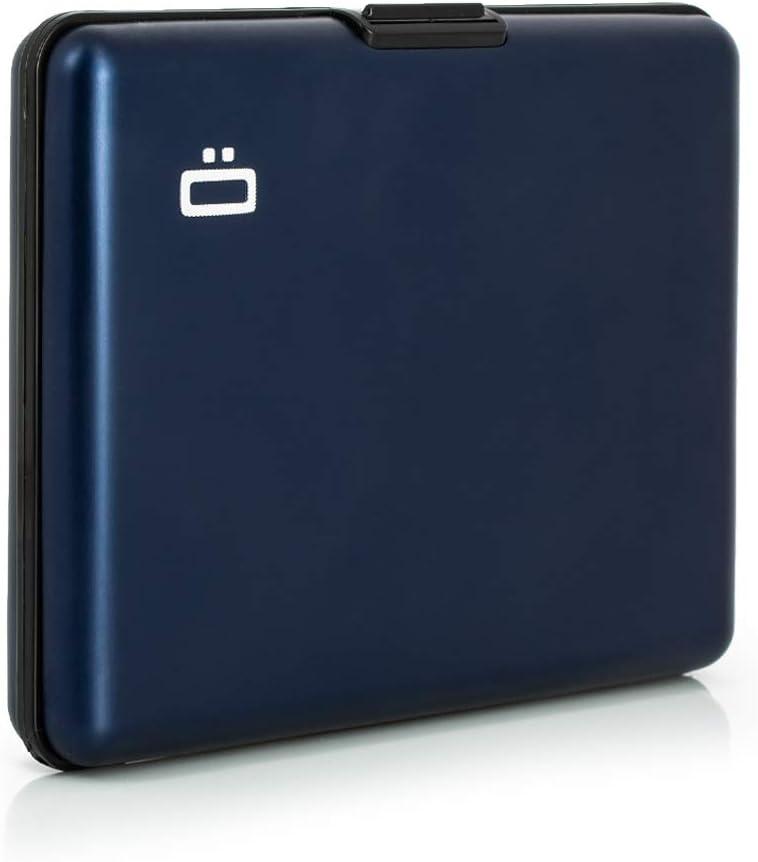 Portefeuille Format Carte didentit/é et permis de Conduire Bleu /Ögon Smart Wallets Jusqu/à 10 Cartes RFID Protection : prot/ège Vos Cartes Contre la fraude