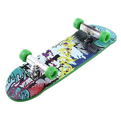 予想するピッチャー淡いForfar 高品質の魅力的な 指板 子供の子供 ミニフィンガーボード 指板 プラスチックのかわいいパーティー好き スケートボーディングのおもちゃギフト