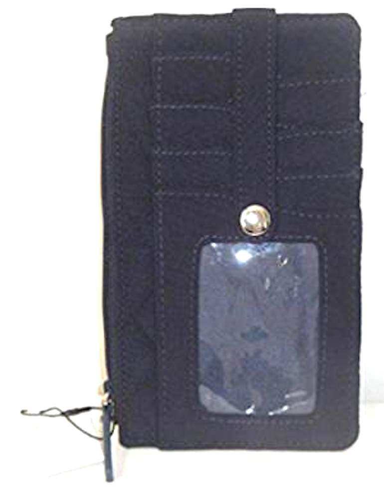 Vera Bradley Ultimate Card Case - Classic Black - NWT