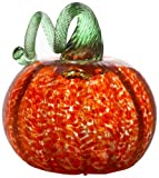 Kitras 6-Inch Small Pumpkin Home Decor, Orange