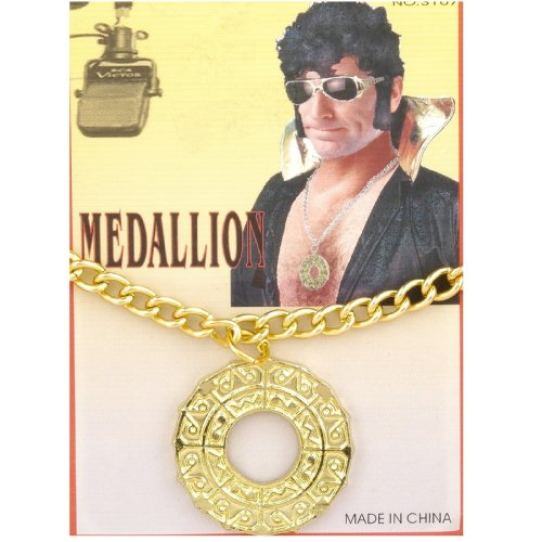 [70s Disco Fever Medallion] (70s Costumes Men)