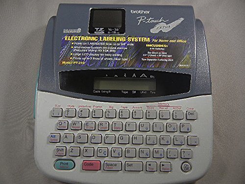 Brothers P-Touch PT-310 Electronic Labeling System
