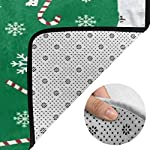 Super Soft Modern English Springer Spaniel Santa Christmas Area Rugs Living Room Carpet Bedroom Rug for Children Play Solid Home Decorator Floor Rug and Carpets 210 x 150 cm 10