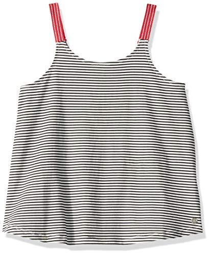 - Roxy Girls' Big Spirit Bird Tank Top, Anthracite Cosy Stripes, 10/M